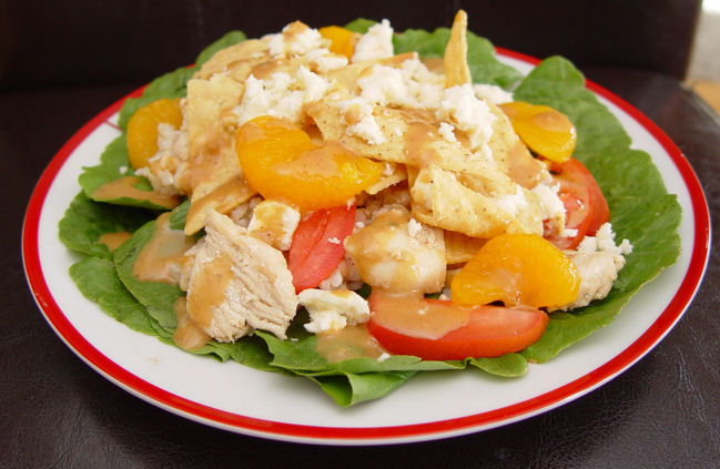 Rumbi's Mango Chicken Salad