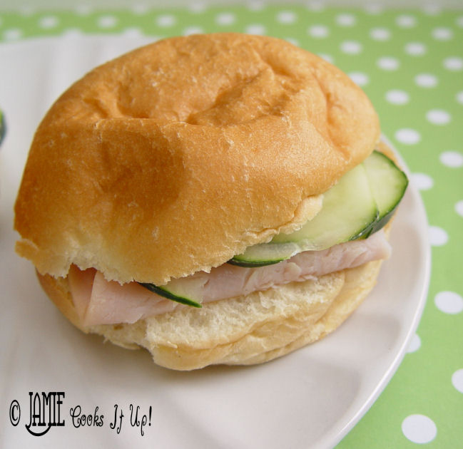 Turkey and Cucumber Sandwiches