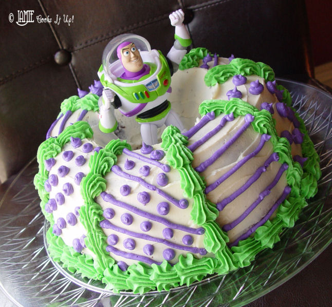 Buzz Light Year Cake, To the Rescue!