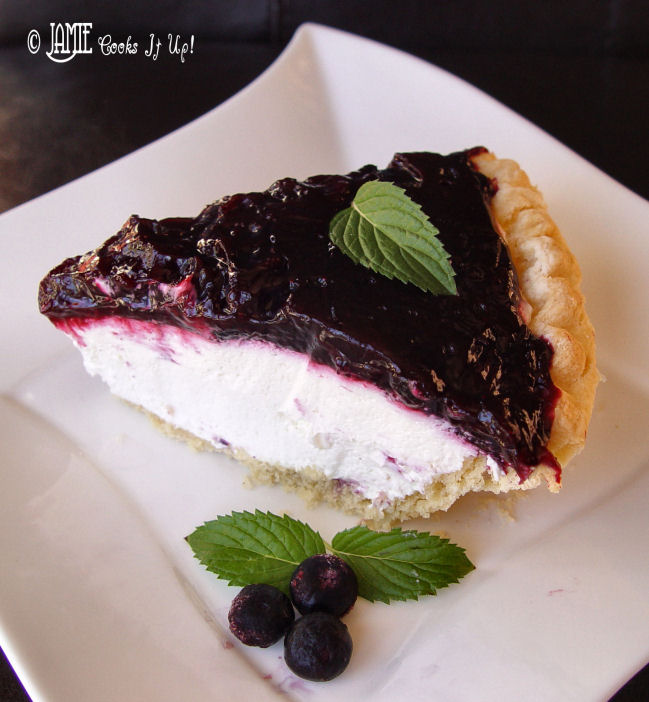 Blueberry Sour Cream Pie and Double Confession Delight