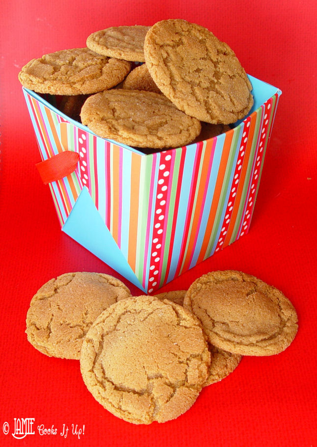Gingersnap Cookies, treat week continues!