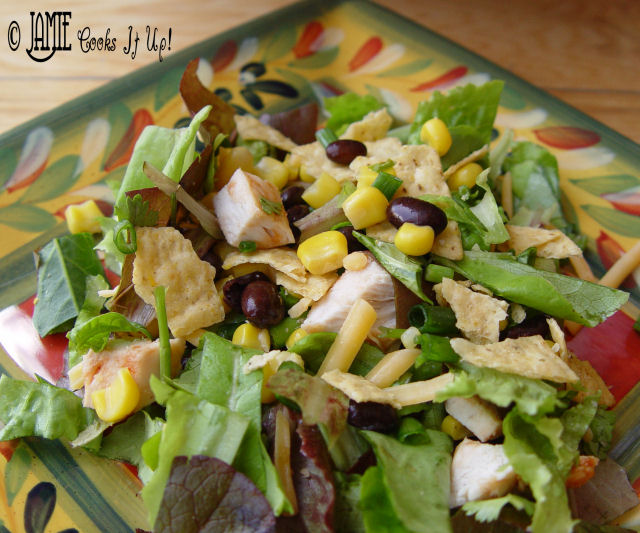 BBQ- Ranch Chicken Salad