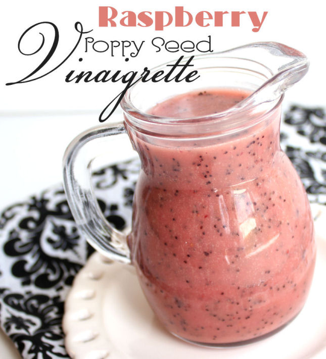 Raspberry Poppy Seed Vinaigrette