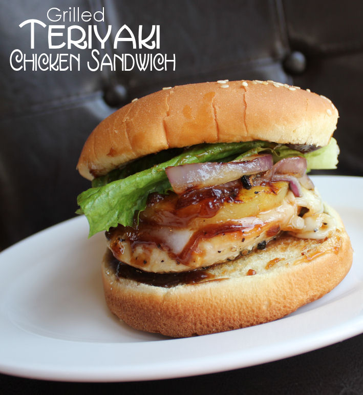 Grilled Teriyaki Chicken Sandwich