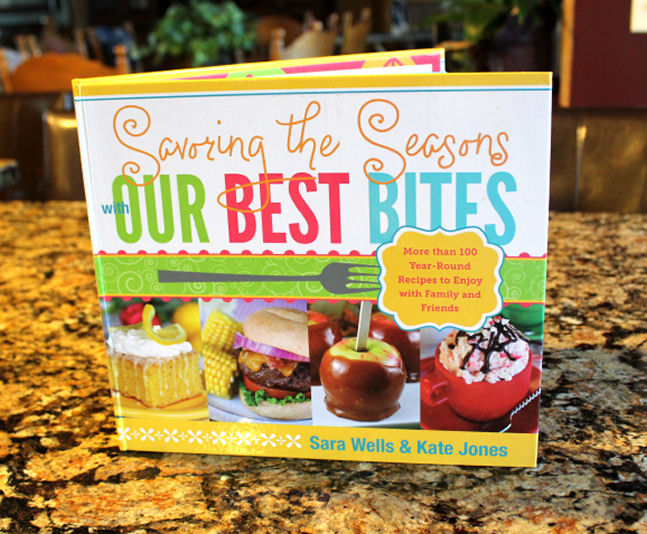 {GIVEAWAY} Our Best Bites Savoring The Seasons Cookbook