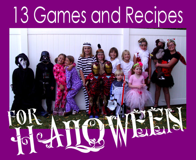 13 Games and Recipes for Halloween