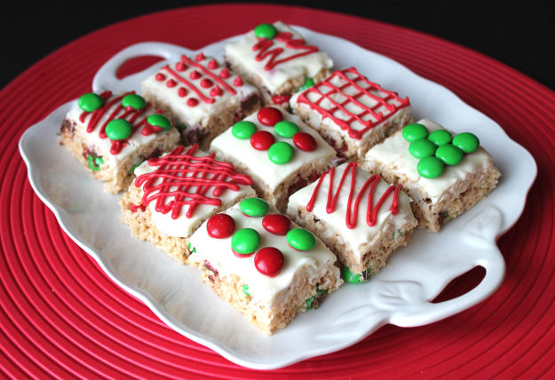Cute Christmas Rice-Krispie Treats