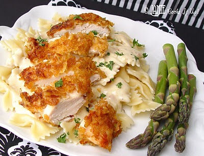 crispy chicken with italian sauce