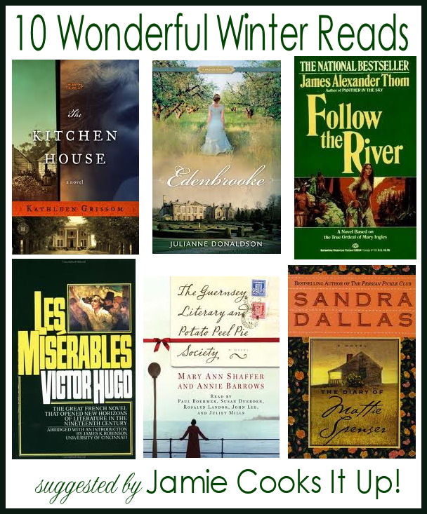 {Giveaway} and 10 Wonderful Winter Reads 2013