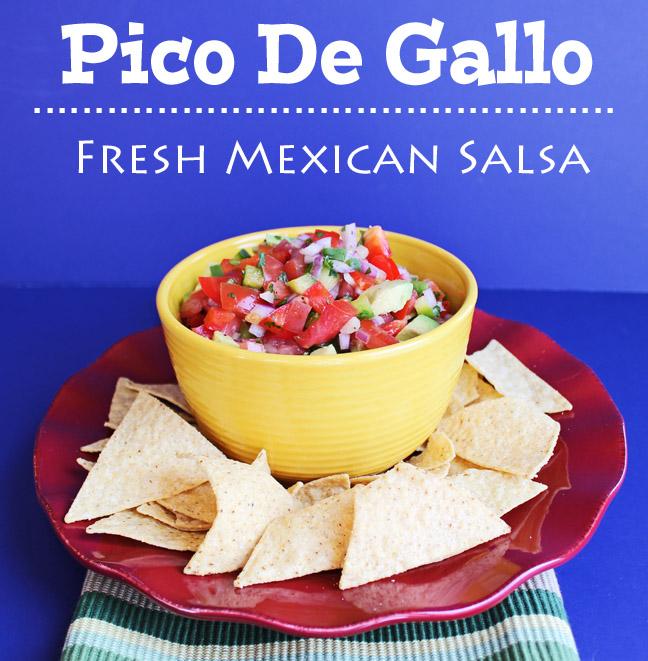 Pico De Gallo (Fresh Mexican Salsa)