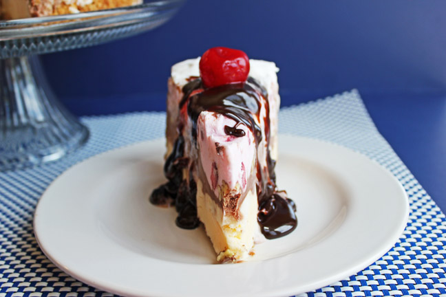 Banana Split Ice Cream Dessert