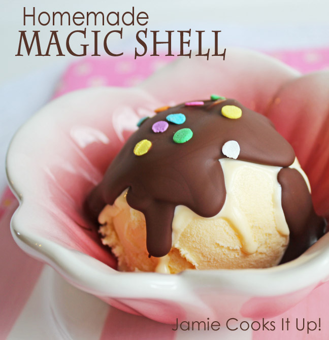 DIY Magic Shell Recipe — Dishmaps