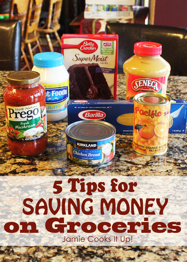 Tips for saving money from Jamie Cooks It Up!