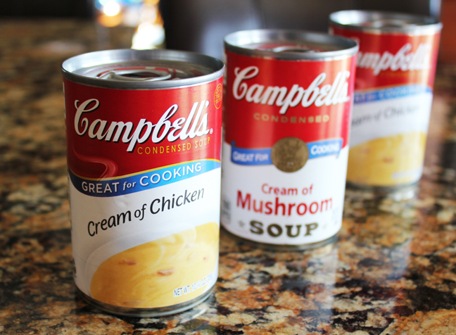 Campbells Cooking Soups plus 5 Great Recipes