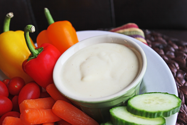 Creamy Honey Mustard Dressing and Dip from Jamie Cooks It Up