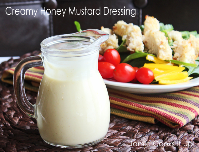 Creamy Honey Mustard Dressing