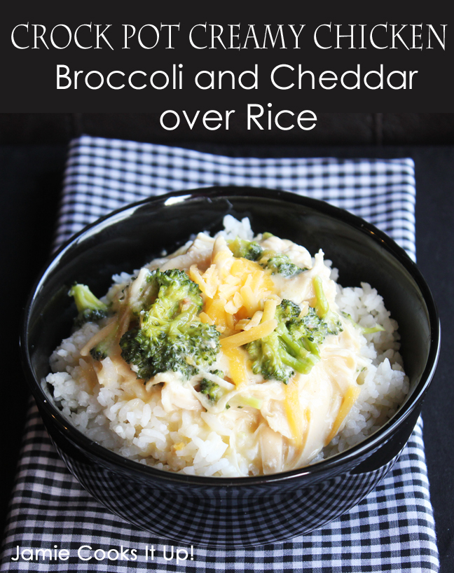 Crock Pot Creamy Chicken and Broccoli