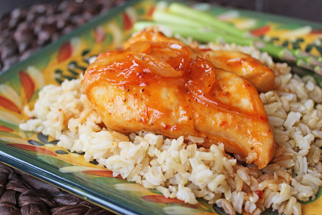 Easy Russian Chicken from Jamie Cooks It Up!