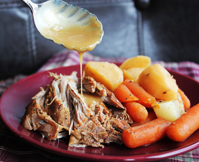 pot roast studded with almonds and bacon recipes dishmaps pot roast ...