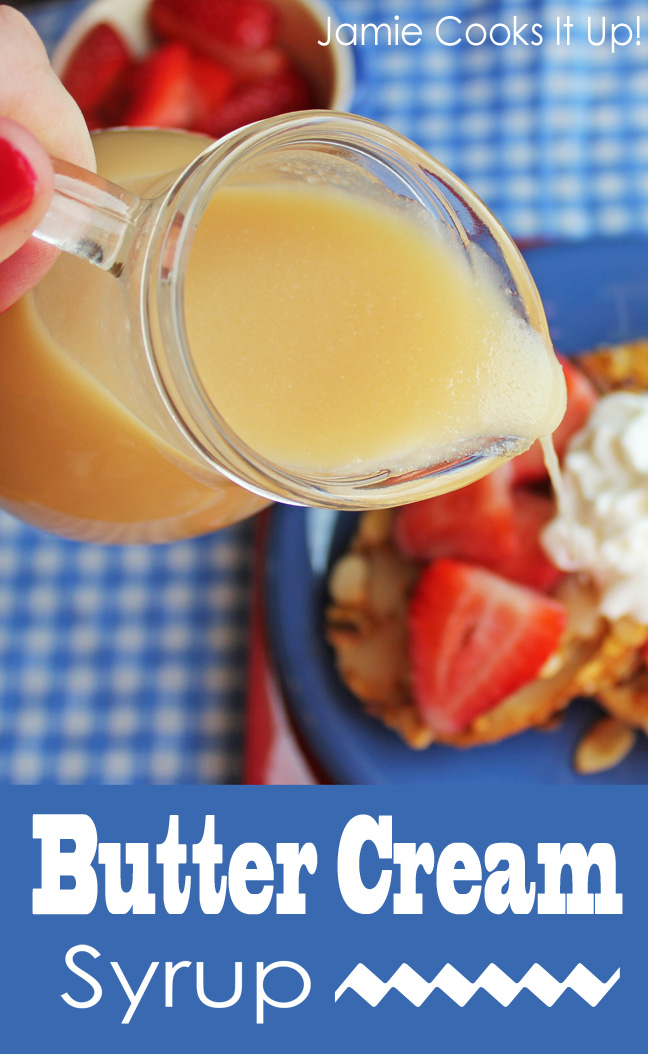 Butter Cream Syrup