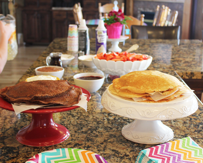 How to Host A Crepe Bar Party