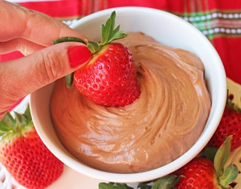 Whipped Nutella Mousse Sidebar