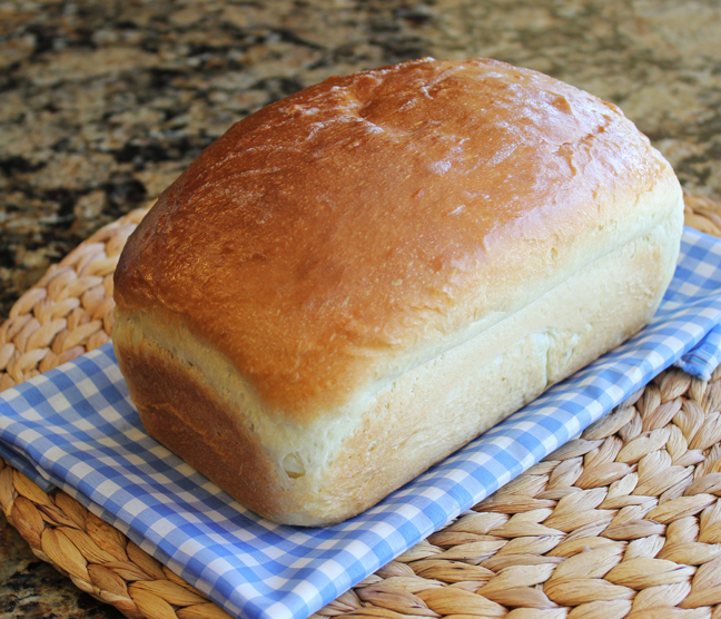 Homemade White Bread from Jamie Cooks It Up