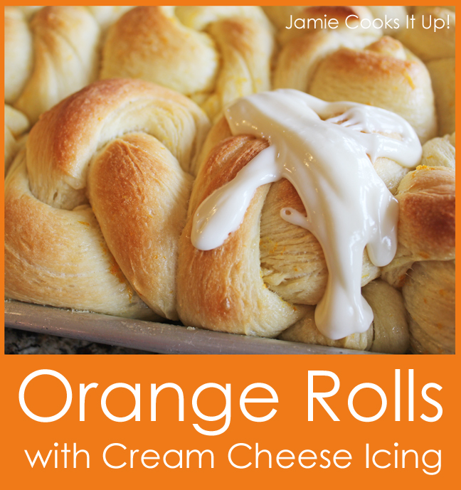 Orange Sticky Rolls With Cream Cheese Icing Recipes — Dishmaps