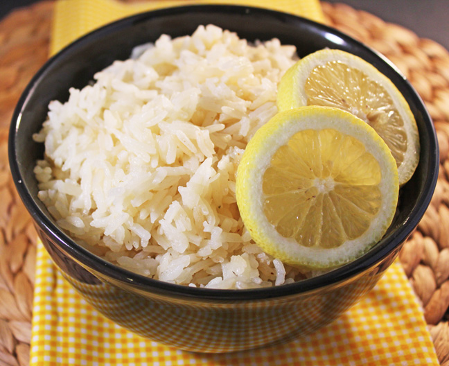Lemon Butter Rice