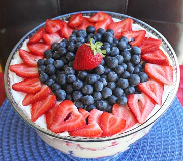 Lemon Berry Trifle (5 Ingredients!)