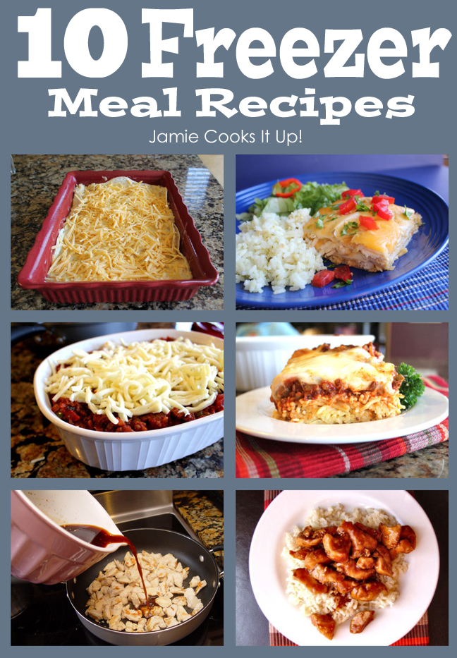 10 Freezer Meal Recipes
