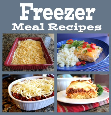 Freezer Meals for sidebar
