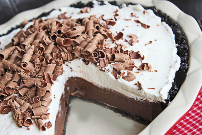 Chocolate Cream Pie from Jamie Cooks It Up