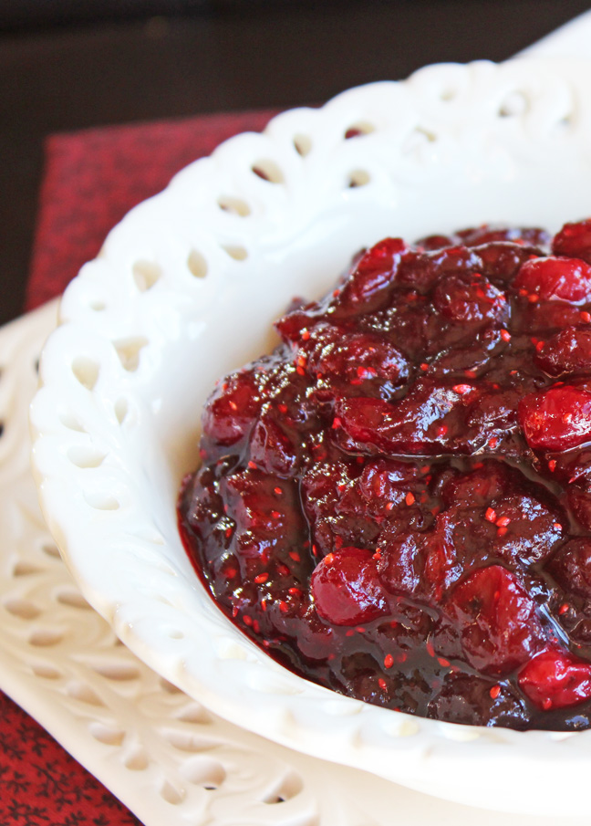 Cranberry Sauce from Jamie Cooks It Up!