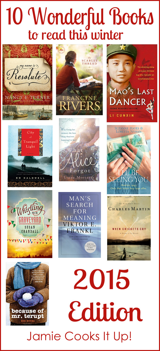 10 Wonderful Books (2015 Edition) and $50 Amazon Gift Card Giveaway
