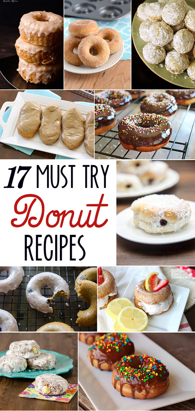 17 donut recipes to try