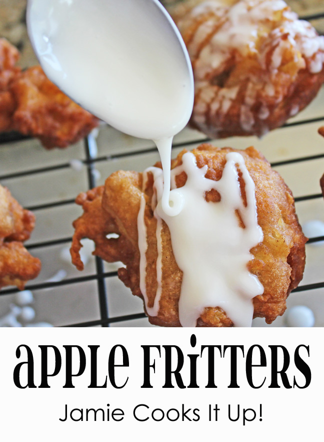 Apple Fritters from Jamie Cooks It Up