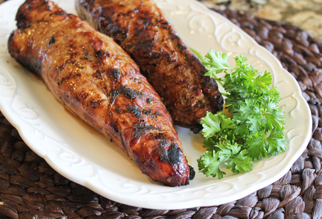 Fabulous Grilled Pork Tenderloin