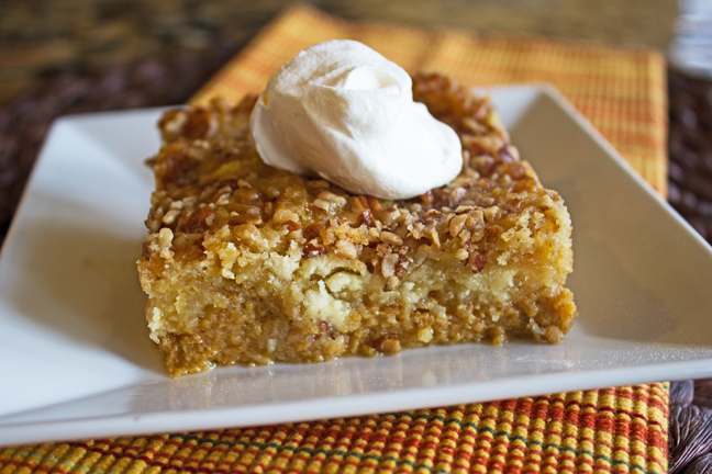 Pumpkin Crunch Cake from Jamie Cooks It Up!