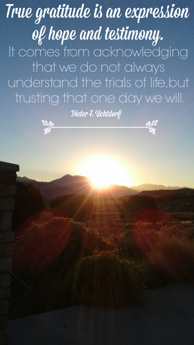 A Grateful Heart Uchtdorf
