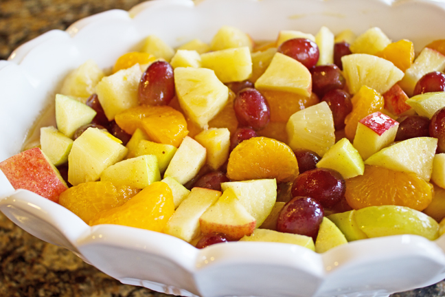 Winter Fruit Salad from Jamie Cooks It Up!