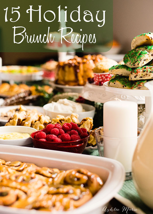 15 Holiday Brunch Recipes