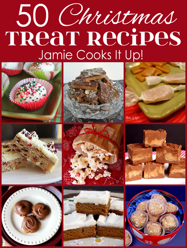 50 Christmas Treat Recipes (2015 Edition)