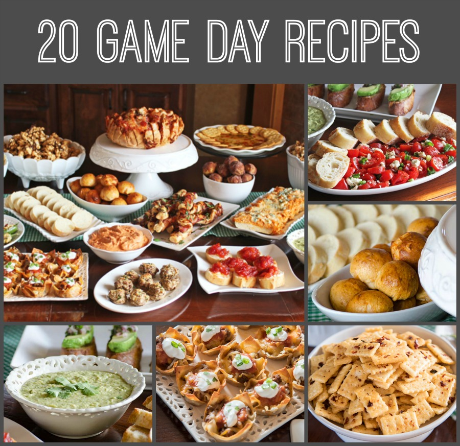 20 Game Day Recipes!