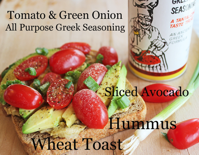 Greek Avocado Toast from Jamie Cooks It Up!!