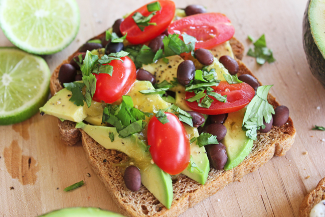 Southwest Avocado Toast!