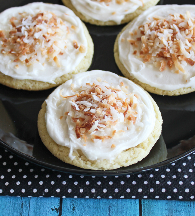 Coconut Cream Cookies!