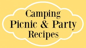Summer Yellow Camping Picnic and Party Recipes