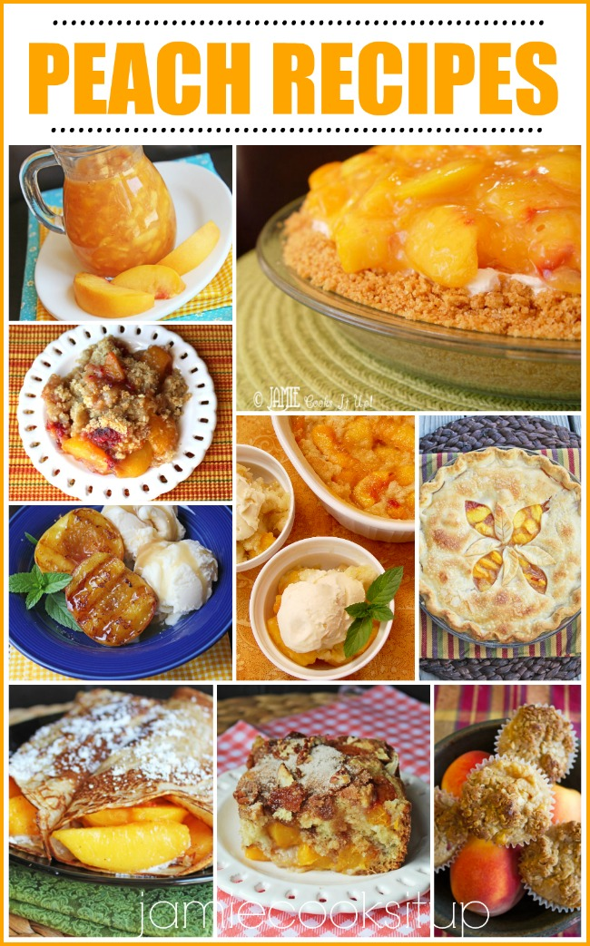 Wonderful Peach Recipes