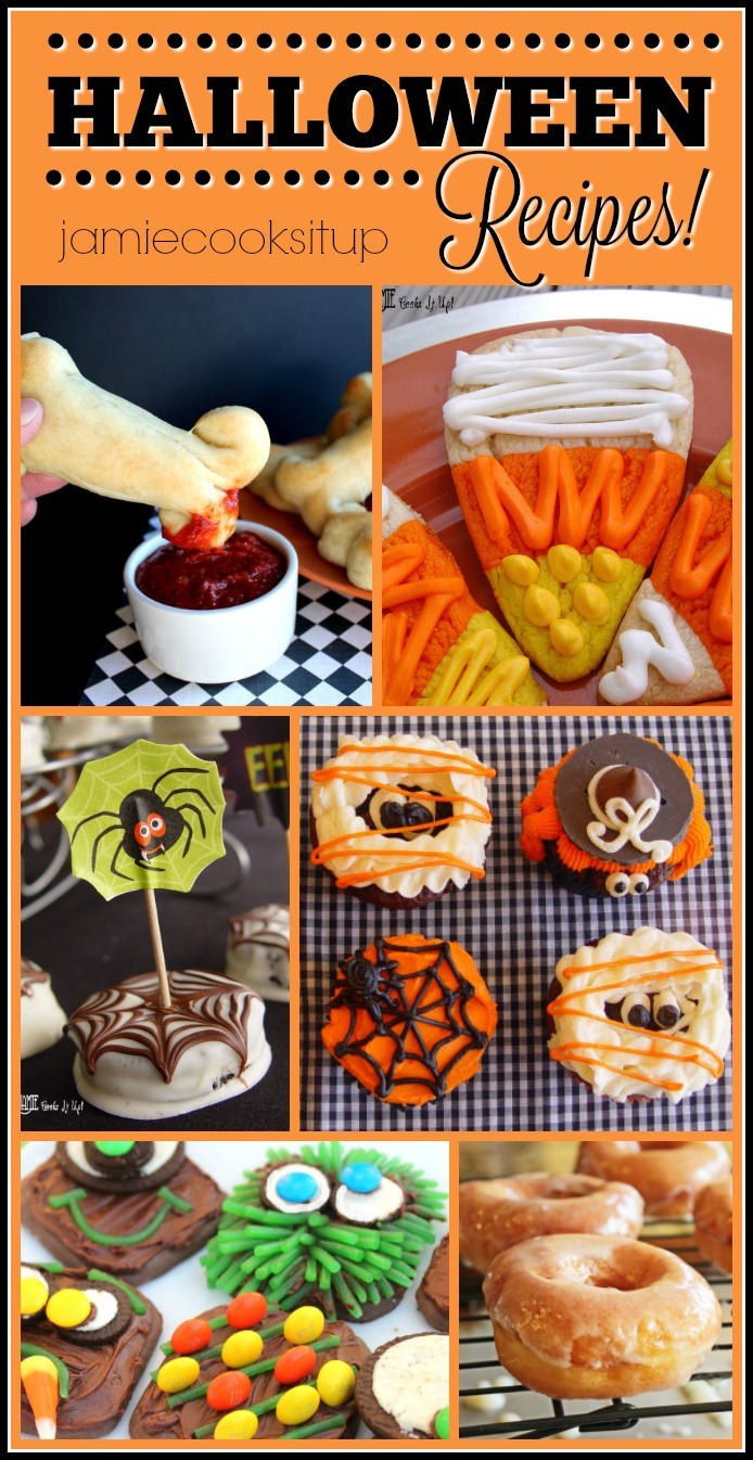Fun Halloween Recipe Roundup 2016